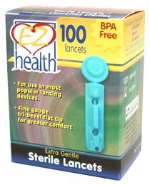 EZ Health/Oracle<sup>&reg;</sup> Lancets
